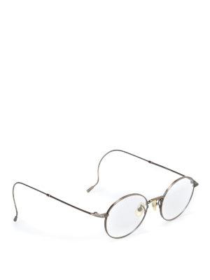 12eb512a42 999.9 FOUR NINES  Occhiali - Occhiali metallici da vista rotondi e sottili