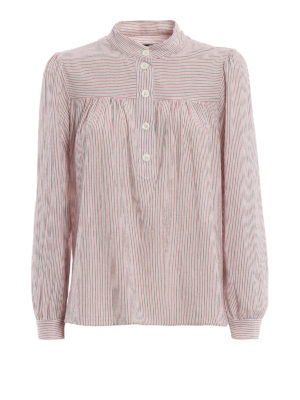 A.P.C.: bluse - Blusa Loula in cotone a righe