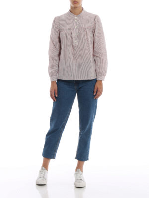 A.P.C.: bluse online - Blusa Loula in cotone a righe