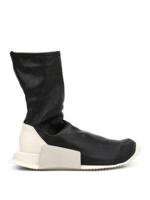 Adidas by Rick Owens: boots - Walrus leather socks boots