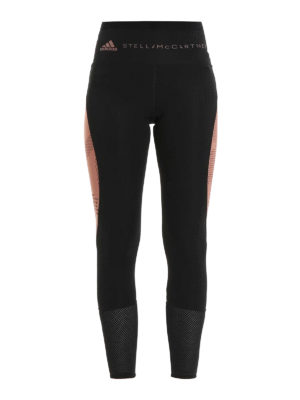 Adidas by Stella McCartney: leggings - Recycled two-tone training tights