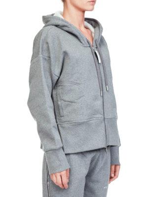 ADIDAS BY STELLA MCCARTNEY: Felpe e maglie online - Felpa con cappuccio e cerniere ai lati