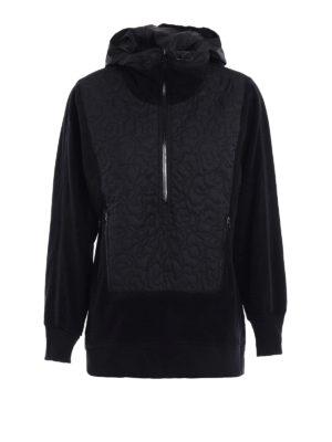 Adidas by Stella McCartney: Sweatshirts & Sweaters - Run Polar fleece sweatshirt