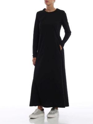 ADIDAS Y-3: abiti lunghi online - Abito maxi Stacked Logo nero