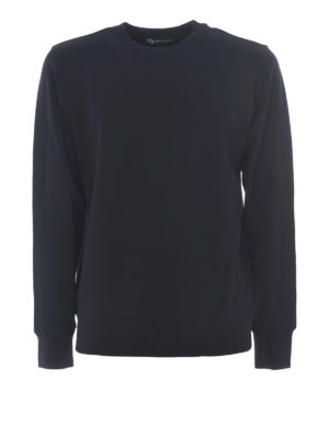 Adidas Y-3: Sweatshirts & Sweaters - Cobra black cotton sweatshirt