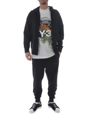 Adidas Y-3: Sweatshirts & Sweaters online - Y-3 Classic cotton zipped hoodie