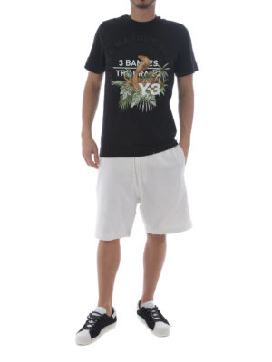 Adidas Y-3: t-shirts online - Cobra black Tee