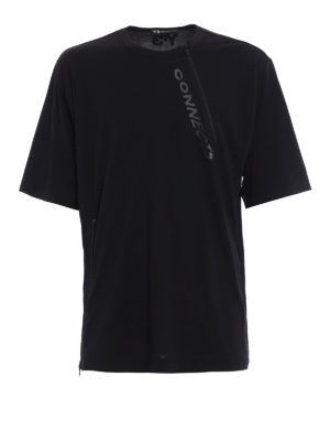 Adidas Y-3: t-shirts - Two zip over T-shirt