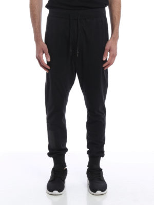 Adidas Y-3: tracksuit bottoms online - Skylight cotton tracksuit pants