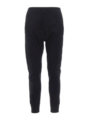 Adidas Y-3: tracksuit bottoms - Skylight cotton tracksuit pants
