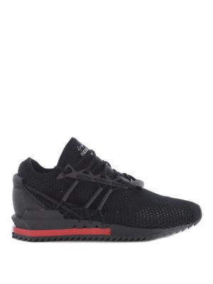 Adidas Y-3: trainers - Harigane primeknit black sneakers