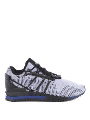 Adidas Y-3: trainers - Harigane primeknit white sneakers