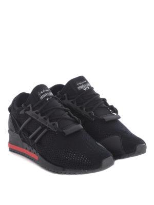 Adidas Y-3: trainers online - Harigane primeknit black sneakers