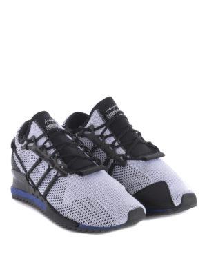 Adidas Y-3: trainers online - Harigane primeknit white sneakers