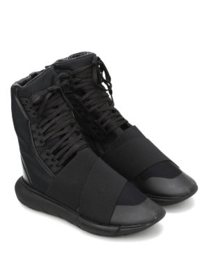 Adidas Y-3: trainers online - Qasa Boot multifabric sneakers