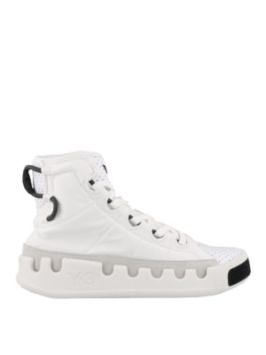 ADIDAS Y-3: trainers - Y-3 Kasabaru high top sneakers