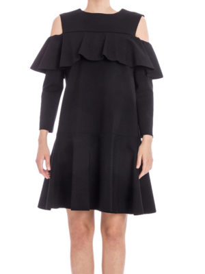 Alberta Ferretti: cocktail dresses online - Flared ruffle dress