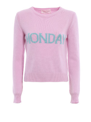 Alberta Ferretti: crew necks - Monday wool and cashmere sweater