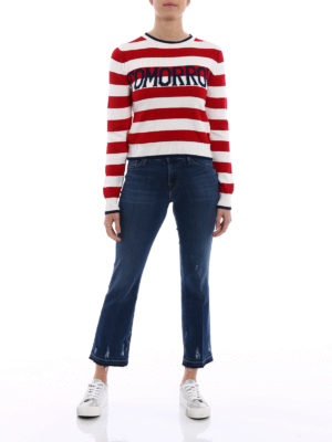 Alberta Ferretti: crew necks online - Rainbow collection Tomorrow pull