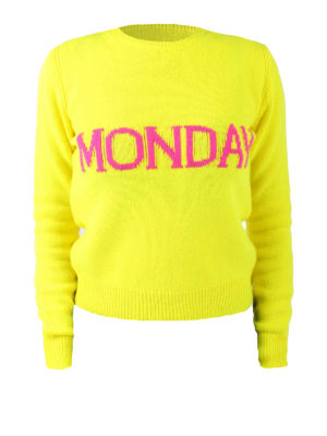 Alberta Ferretti: crew necks - Rainbow Week Monday sweater