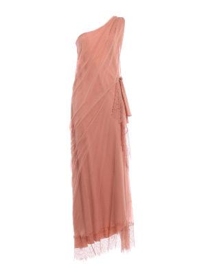 Alberta Ferretti: evening dresses - One shoulder silk draped dress
