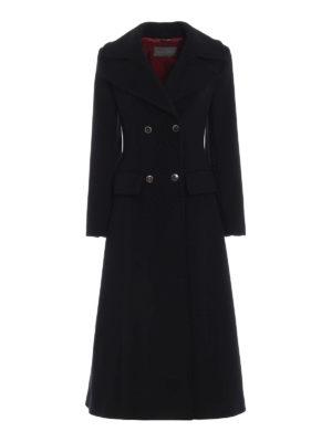 ALBERTA FERRETTI: cappotti lunghi - Cappotto doppiopetto sciancrato in panno