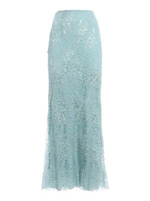 Alberta Ferretti: Long skirts - Long lace skirt