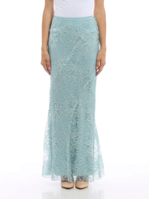 Alberta Ferretti: Long skirts online - Long lace skirt