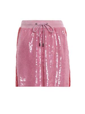 ALBERTA FERRETTI: minigonne - Minigonna rosa in paillettes