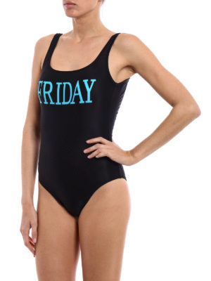 Alberta Ferretti: one-piece online - Rainbow Week Friday swimsuit