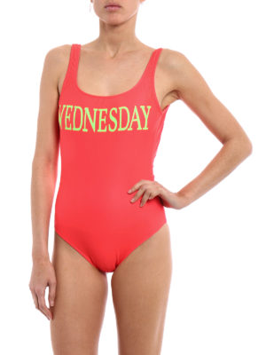 Alberta Ferretti: one-piece online - Rainbow Week Wednesday swimsuit