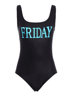 Alberta Ferretti: one-piece - Rainbow Week Friday swimsuit
