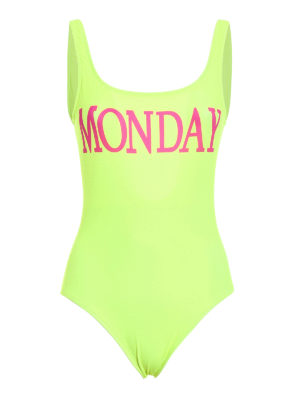 Alberta Ferretti: one-piece - Rainbow Week Monday swimsuit