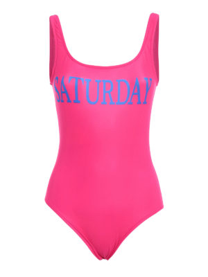 Alberta Ferretti: one-piece - Rainbow Week Saturday swimsuit
