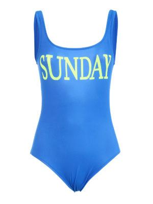 Alberta Ferretti: one-piece - Rainbow Week Sunday swimsuit