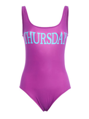 Alberta Ferretti: one-piece - Rainbow Week Thursday swimsuit