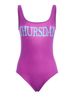 Alberta Ferretti: one-piece - Rainbow Week Thursday swimsuit