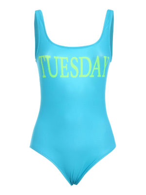 Alberta Ferretti: one-piece - Rainbow Week Tuesday swimsuit
