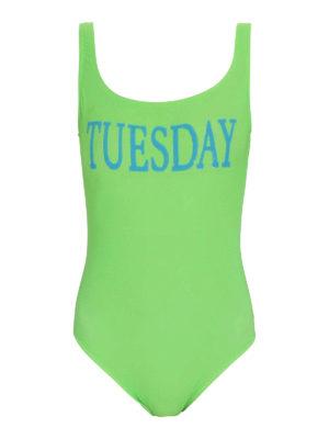 ALBERTA FERRETTI: one-piece - Rainbow Week Tuesday swimsuit