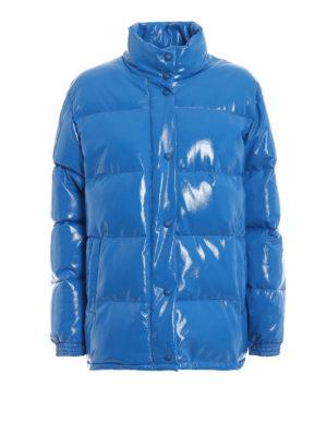 ALBERTA FERRETTI: giacche imbottite - Piumino effetto laccato con ricamo Friday