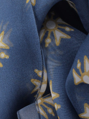 Alberta Ferretti: scarves online - Printed silk chiffon scarf
