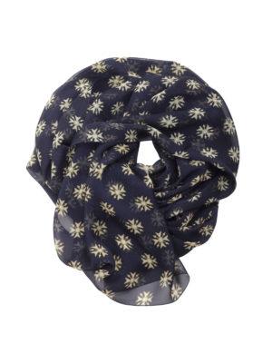 Alberta Ferretti: scarves - Printed silk chiffon scarf