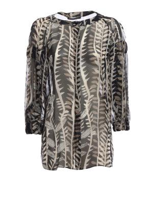 Alberta Ferretti: shirts - Elasticated cuffs detailed shirt