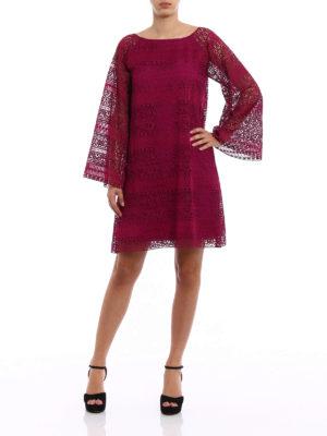 Alberta Ferretti: short dresses online - Macramé flared dress