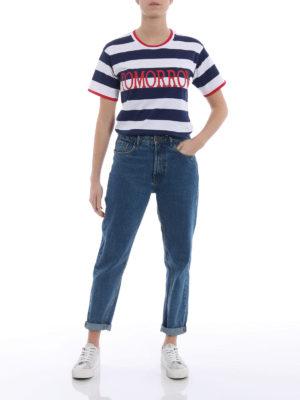 Alberta Ferretti: t-shirts online - Rainbow Week Tomorrow T-shirt