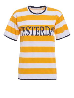 Alberta Ferretti: t-shirts - Rainbow Week Yesterday T-shirt