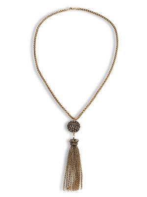 Alcozer: Collane - Collana in bronzo con strass
