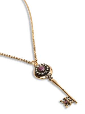 Alcozer: Necklaces & Chokers online - Key pendant necklace