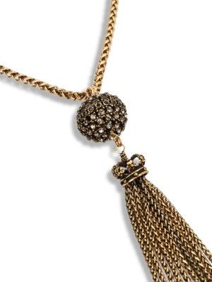 Alcozer: Collane online - Collana in bronzo con strass
