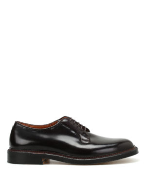 Alden: classic shoes - Cordovan brushed leather Derby